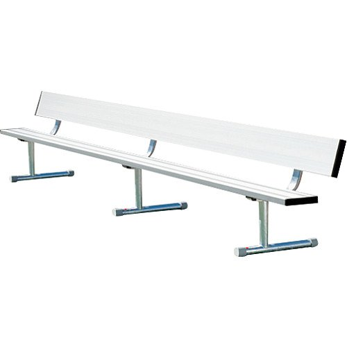 Sport Supply Group 15' Portable Bench with Back by Sport Supply Group