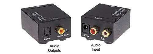 Analog Stereo Audio to Digital Optical S/PDIF Audio Format Converter