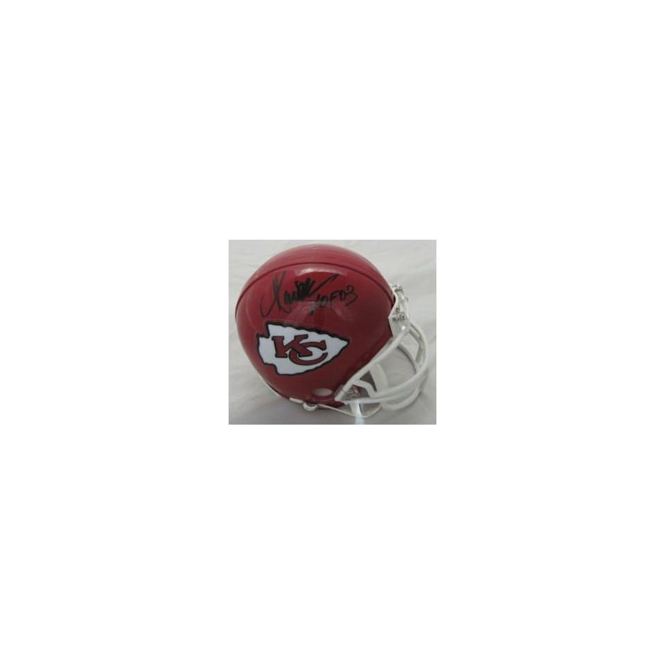 Marcus Allen Kansas City Chiefs Signed Mini Helmet Hof