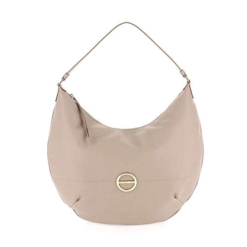 Female Leather Bag s23 Almond Borbonese 913360 419 H1BSaw7q5