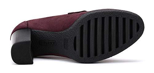 Baggy The Bibbo Burdeos Tacón Zapato Flexx Mujer De wUUHFx7rqE