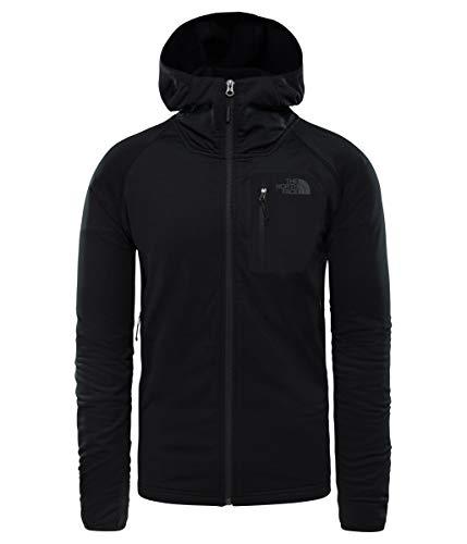 The North Face Men's Borod Hoodie - TNF Black & TNF Black - - Hooded Jacket Face Mens North