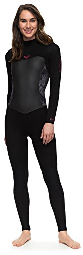 6c4e6dd694 Roxy Women s Syncro Series 3 2mm Back Zip Full Wetsuit - Classic Black - 8