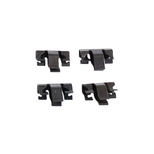 Pony 1987-1993 Mustang Shifter Selector Bezel Trim Clips 4pc (Mustang Shifter Bezel)