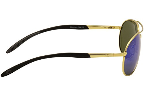 Polarized Blue Del Mar Sunglasses Mirror Costa Wingman Gold 68ZwaqOn