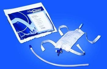 ((EA) Latex Free Urinary Leg Bag Kits)