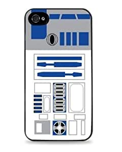 R2D2 Starwars Apple iPhone 5 / 5S Silicone- Black - 123 by icecream design