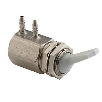 Toggle Valve, Side Ported, 3-Way, Gray from DCI