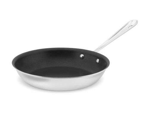 All-Clad Tri-Ply Stainless-Steel Nonstick Fry Pan 10'' by All-Clad