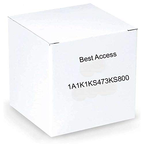 Image of Commercial Access Control BEST Access Systems 1A1K1KS473KS800 Standard Blank K Keyway, Nickle Silver