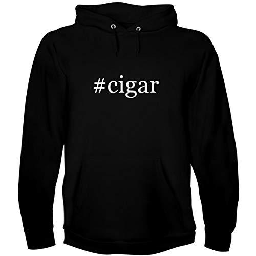 The Town Butler #Cigar - Men's Hoodie Sweatshirt, Black, X-Large