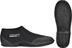 The Minorca Short 3mm are lightweight shoes ideal for outdoor sports and travel. Made with Super Elastic Neoprene for best comfort within the sole, it is built to provide extra comfort and is also ultra durable. The sole made of long-lasting ...