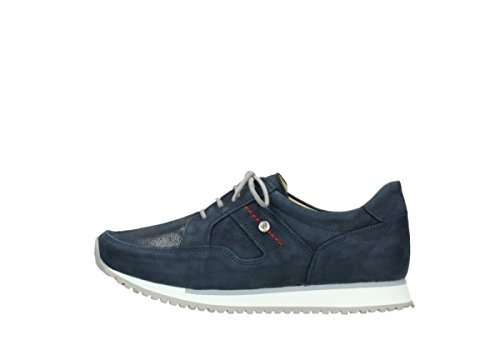 Zapatillas Azul Wolky 5804 10820 Para Mujer aET1qSw