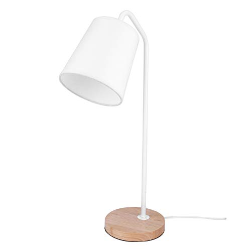LED Tischlampe mit USB-Anschluss weiß Touch-Button modern Leuchte Bürolampe