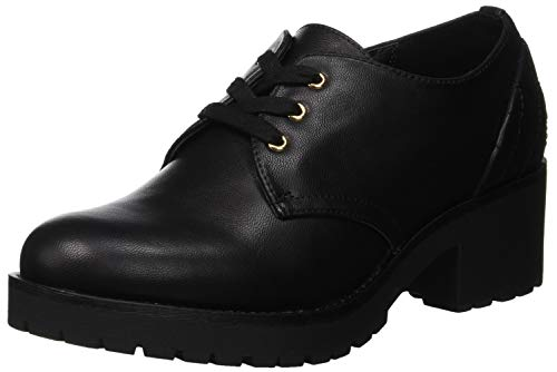 Nero Bata Stringate Donna 6 Scarpe Derby 5216541 nero 4wwqxX6Or