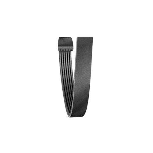 Carlisle High Performance Belt (CARLISLE 180J6 V-Ribbed Belts with 6 Ribs, J Section, Rubber, 0.552 Belt Width, 18.5