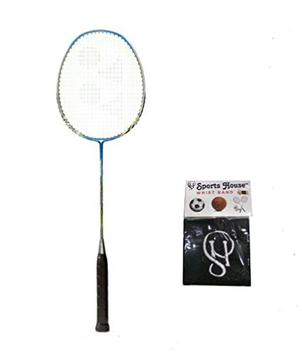Yonex Nanoray 6000i G4 Strung Badminton Racquet  Pack of 1  with SportsHouse Wrist Band