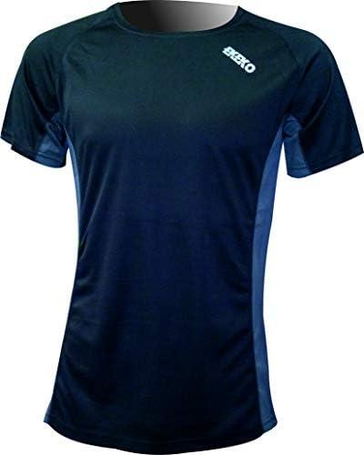 Camiseta Deportiva Manga Corta EKEKO Marathon, Camiseta Hombre Fabricada en Poliester microperforado, Running, Fitness y Deportes en General.: Amazon.es: Deportes y aire libre