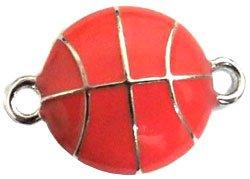 Undee Bandz Rubbzy Enamel Rubber Band Bracelet Charm Basketball (Charm Enamel Basketball)