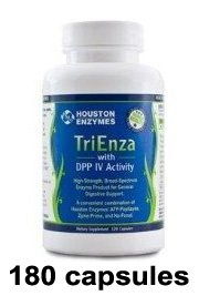 TriEnza with DPP IV Activity 180 Capsules - Houston Nutraceuticals