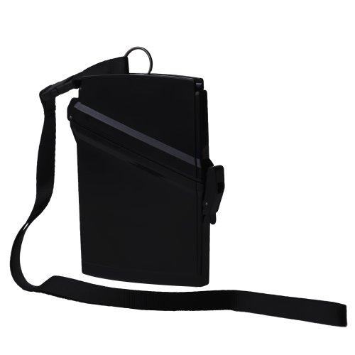 WITZ Waterproof Passport Locker, Black (Best Waterproof Passport Holder)