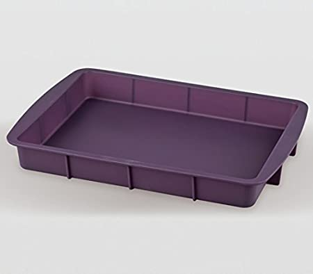 Fuente Horno Silicona Violett 32,5x23x4: Amazon.es: Hogar