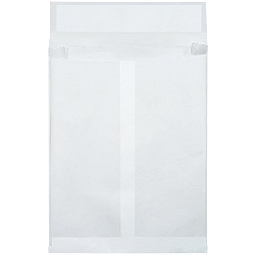 Quality Park TYE10132WE Tyvek Olefin End Opening Expandable Envelope, 13