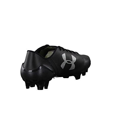 SpeedForm CRM Leather FG – Botas de fútbol Black/Graphite/Black
