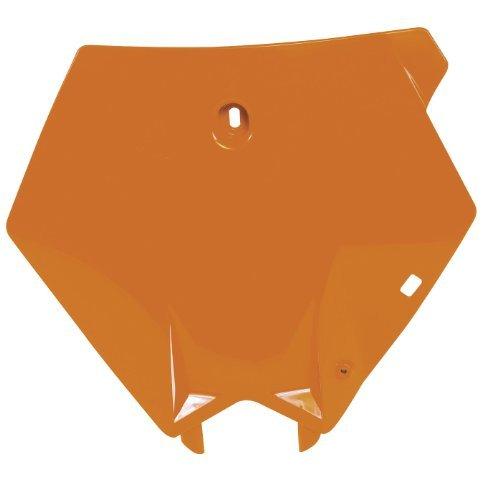 Acerbis Front Number Plate - Orange