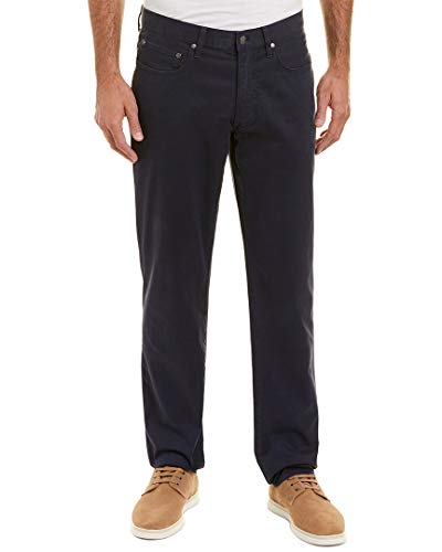 Brooks Brothers Mens Stretch Pant, 32/32, Blue
