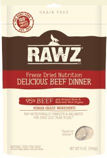 Rawz Freeze Dried Beef Dinner 14oz by Rawz
