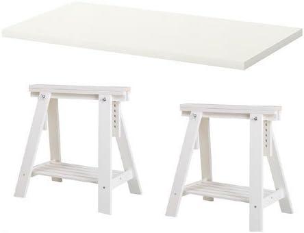 IKEA LINNMON blanco escritorio mesa 47 x 23