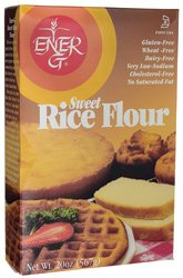 ENER G FOODS Rice Sweet Wheat/Gluten Free Flour, 20 Ounce
