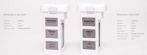 DJI DJI-P3-Battery Intelligent Battery for Phantom 3 Drones (White)