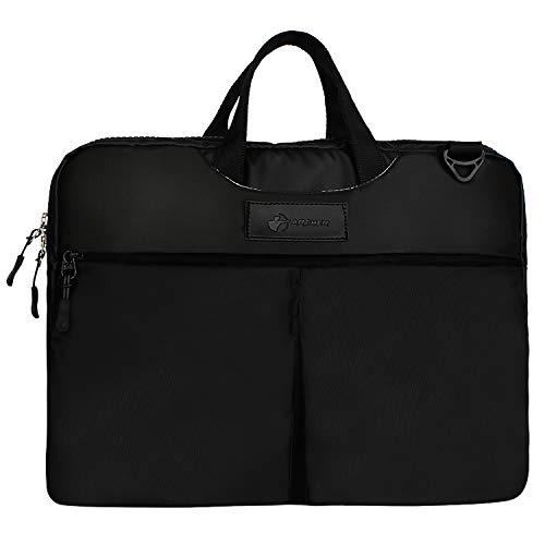 Archer Artemis 15 Inch Laptop Messenger Bag  Black