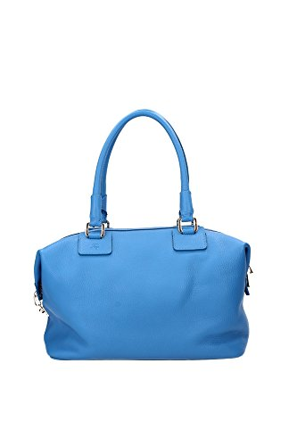 Bowling Bags Fay Women Leather Blue NKWAIEH03007HVU601 Blue 14x21x33 cm