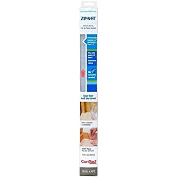 Amazon Com Con Tact Brand Zip N Fit Premium Non Adhesive