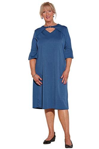 Ovidis Fashionable Dress - Blue   Rosie   Adaptive Clothing - M