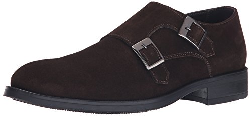 Kenneth Cole New York Men's What He Said Monk Strap, Chocola