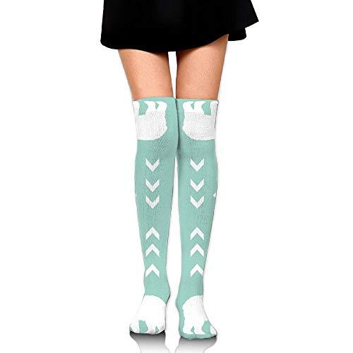 LOIOI67 Bear Boy Mint Upgraded Knee High Graduated Compression Socks for Women and Men - Best Medical,Nursing,Travel & Flight Socks - Running & Fitness