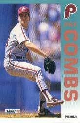 1992 Fleer #525 Pat Combs
