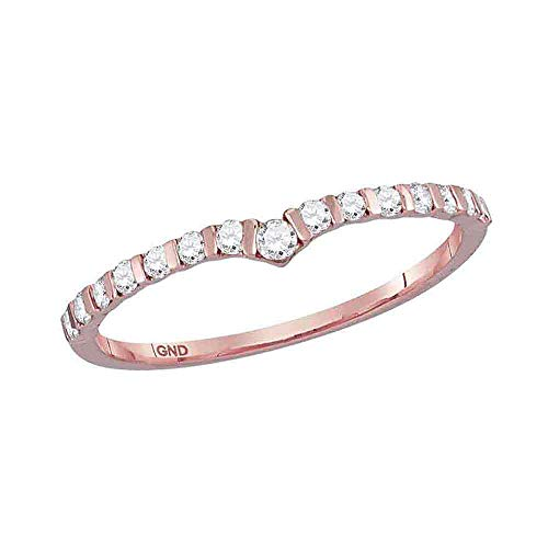 Jewels By Lux 10kt Rose Gold W