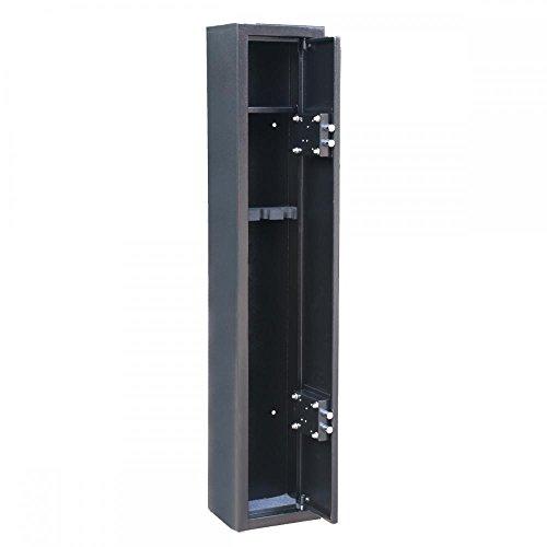 2 Key 3 Gun Rifle Storage Cabinet Case Safe Rack Pistol Wall Shotgun Security by PayLessHere