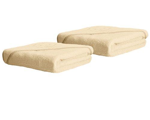 Dex Clevamama Splash and Wrap Hooded Towel, 2 Pack, Cream