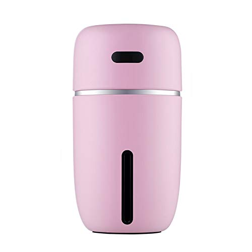 Mini USB Air Humidifier Aroma Diffuser With Changing LED Air Vaporizer Car Essential Oil Aromatherapy Diffuser Pink