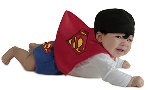Princess Paradise Baby Boys' Superman Diaper Cover Set, Red, 0/3 Months]()