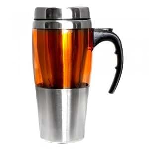 Amazon Com Travel Coffee Mug Leak Proof Best Orange