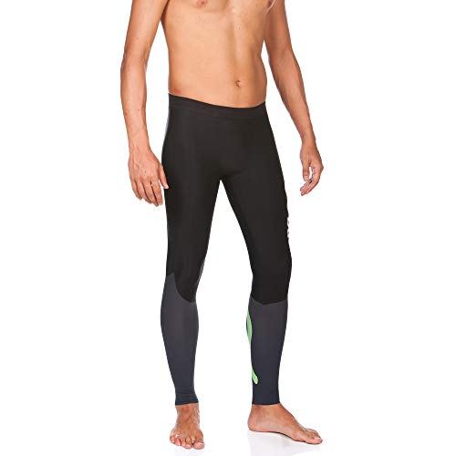 Arena Powerskin Carbon Compression Long Tights, Black/Deep Grey, X-Small by Arena (Image #5)