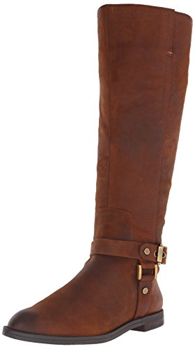 Franco Sarto Womens Vantage Riding Boot Tan d25YhgW4pe