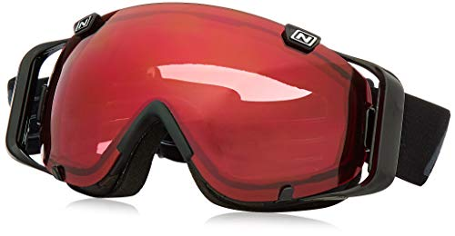 Optic Nerve Goggles - Optic Nerve Boreas Ski Goggles, Inversion Plasma Black/Rose Lens